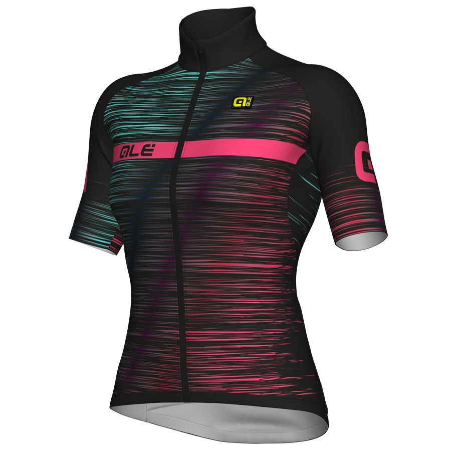 Maillot Ciclismo Mujer Ale Klimatik K-Atmo The End Rosa
