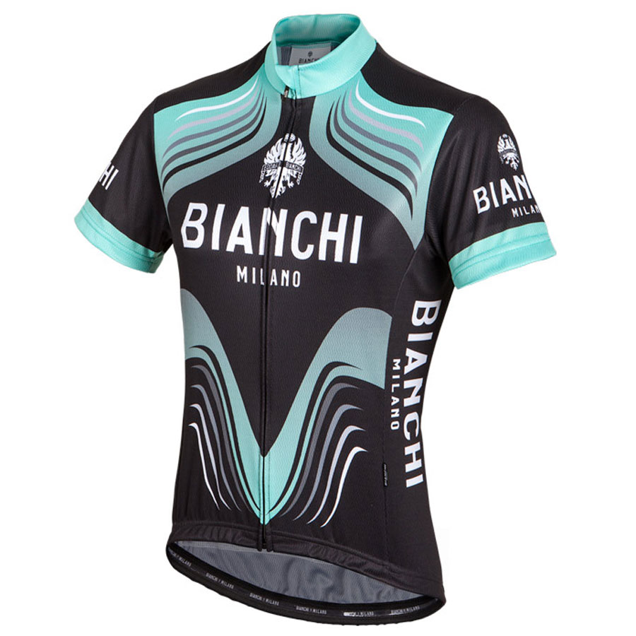 Maillot Ciclismo Mujer Bianchi Tuela Negro Celeste