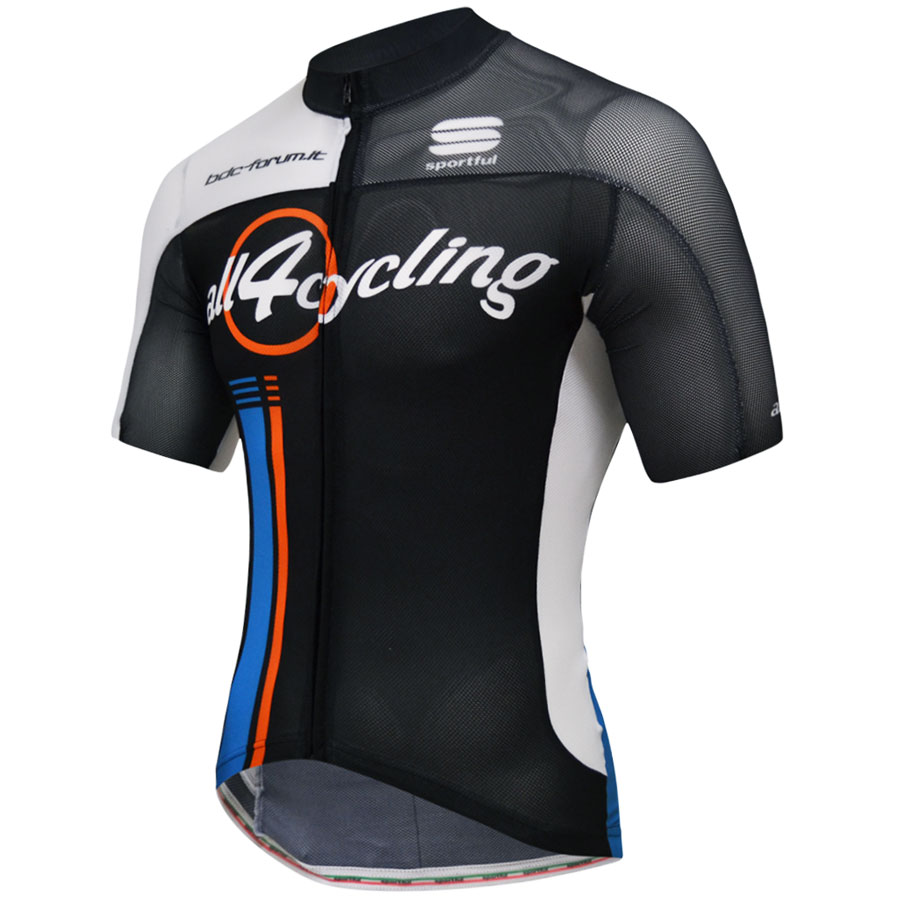 Maillot Ciclismo Bodyfit Summer All4cycling Bdc Forum Team 15