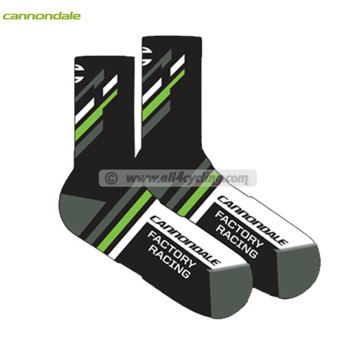 Equipo profesional Calcetines Cannondale CFR Negro