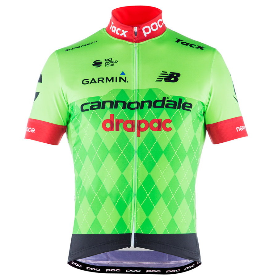 2017 Jersey Cannondale Drapac Verde