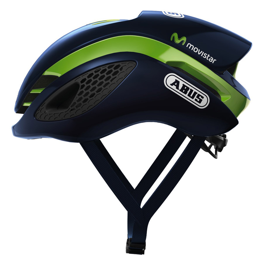 2017 Casco Abus Gamechanger Movistar