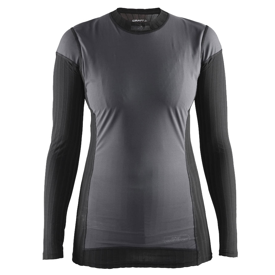Mujer Camiseta interior M/L Craft Active Extreme 2.0 WS Negro