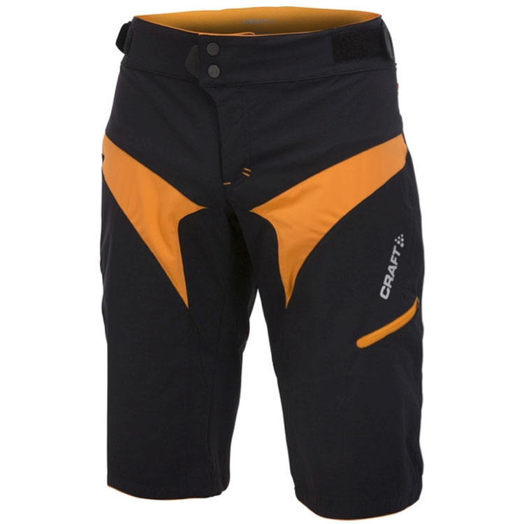 Hombre Culotte Craft Trail Bike Negro Naranja