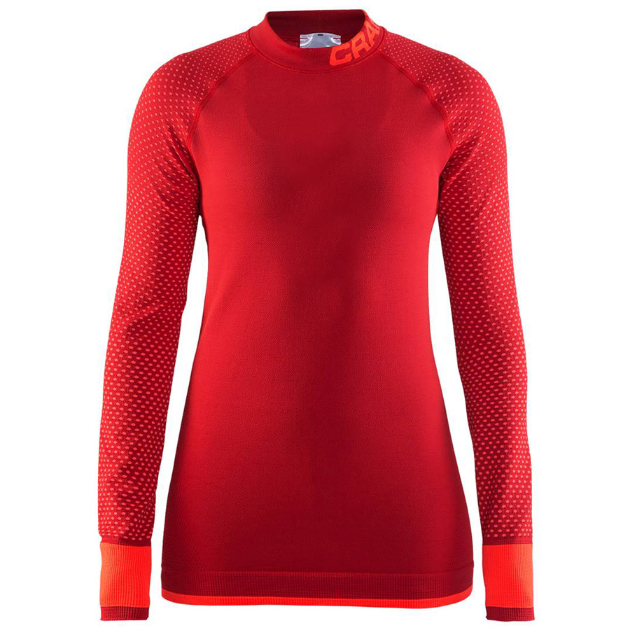 Mujer Camiseta ML Craft Warm Intensity Rojo