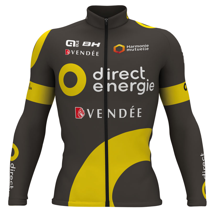 2017 Maillot M/L Direct Energie
