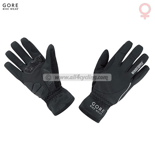 Hombre Guantes para Gore Power So Lady Negro