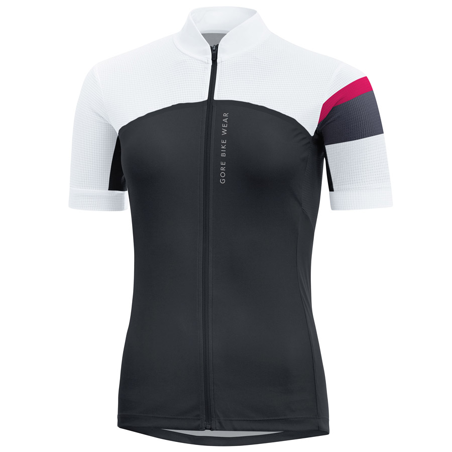 Maillot Ciclismo mujer Gore Power CC Negro