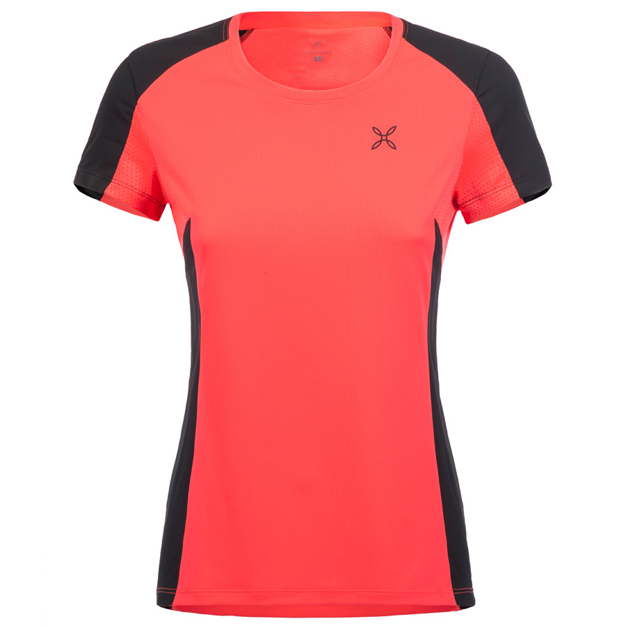 Hombre Jersey Montura Outdoor Perform Rosa Negro