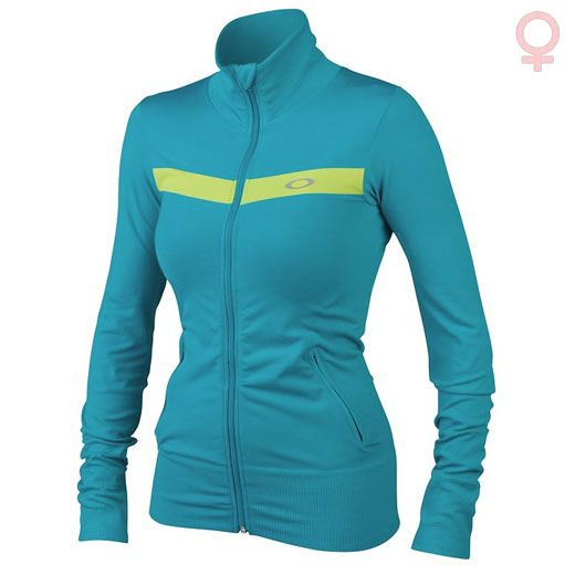Maillot Running M/L Mujer Oakley Cool Down Wave
