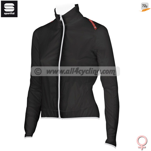 Mujer Chaqueta W Hot Pack Sportful -Negro-