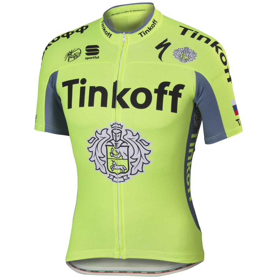 2016 Maillot Team Tinkoff