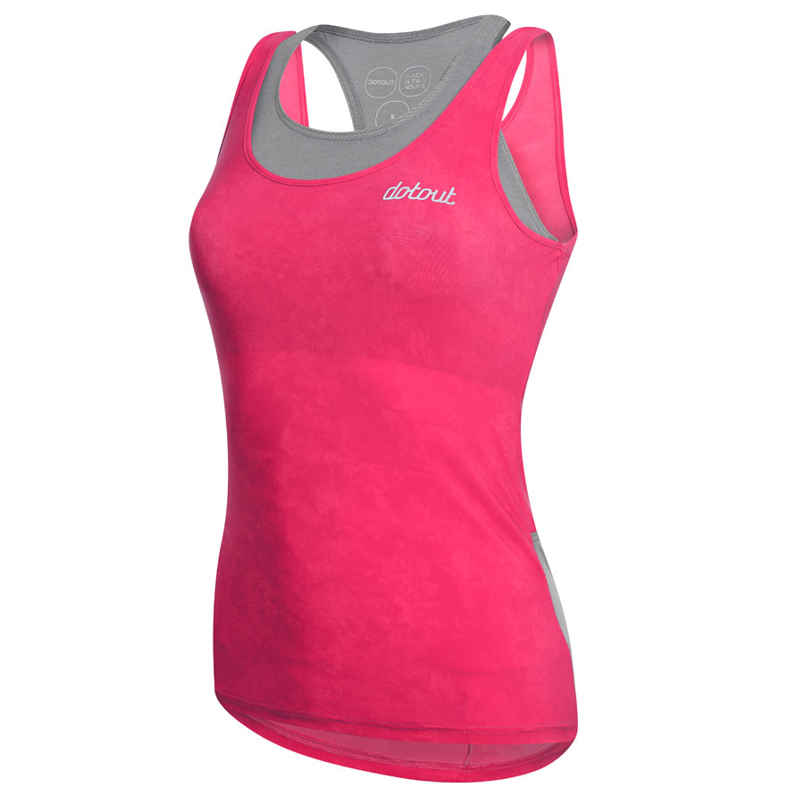 Mujer Top DotOut Oxigen Fucsia